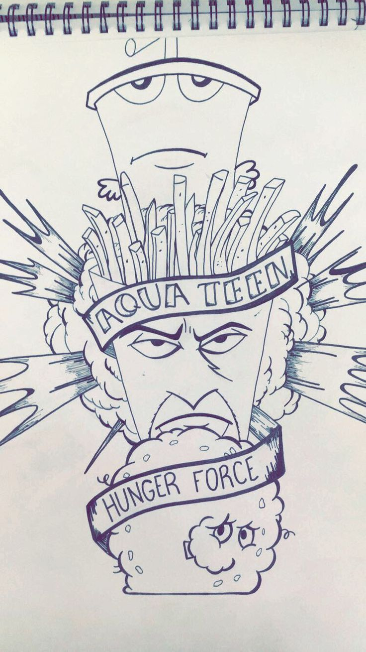 Aqua teen hunger force. #aquateenhungerforce #art #drawing #micron #copic #doodle