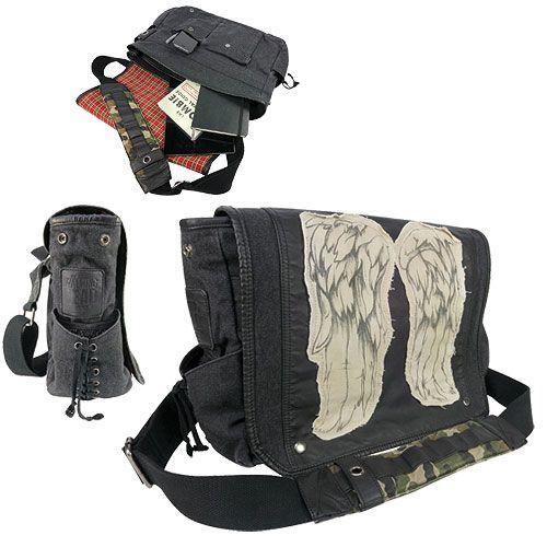 The Walking Dead Daryl Dixon Wings Messenger Bag - Crowded Coop - Walking Dead - Messenger Bags at Entertainment Earth