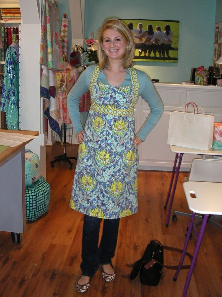 amy butler apron - Google Search