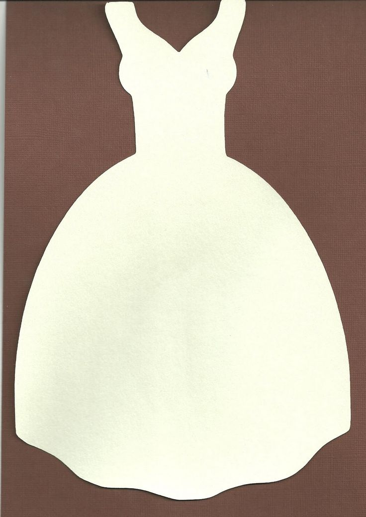 free svg files | Free Svg file Wedding dress Shaped card | cameo svg ...