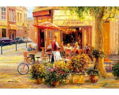 Puzzle Educa Corner Cafe de 2000 Piezas