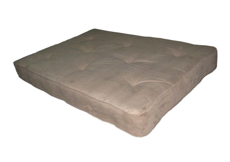 "Independently Encased Coil Premium 8"" Full Size Futon Mattress"