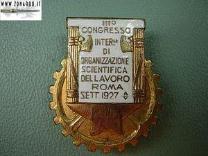 Congresso dell'organizzazione scientifica del Lavoro