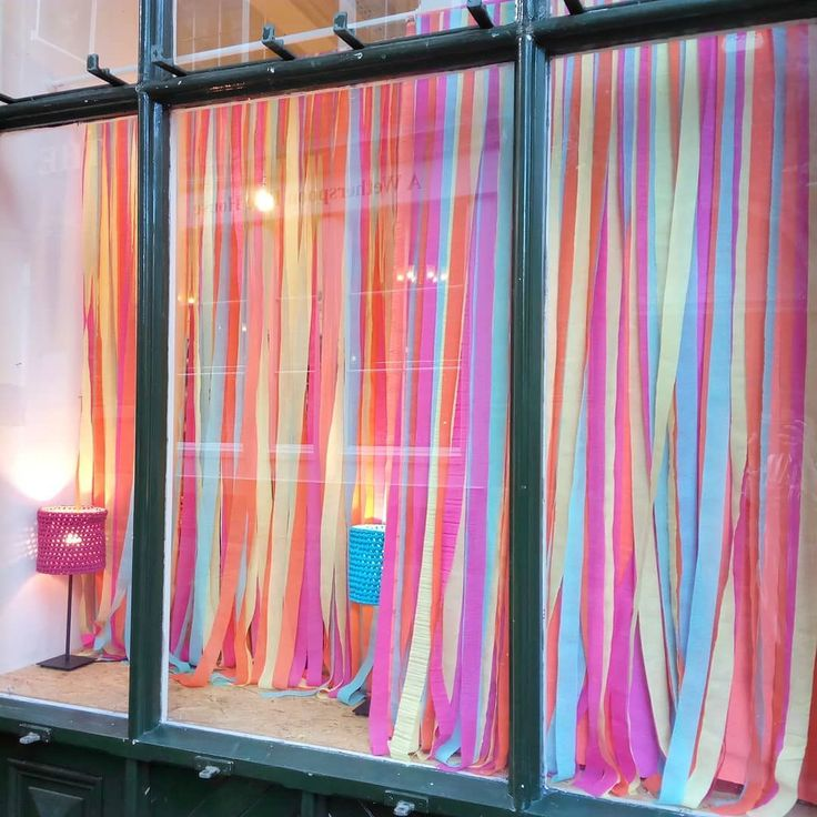 I've been busy bringing all the colour to @handmadenotts window. Now I just need to add the products!  . . . #colourventures #colourpop #rainbow #windowdisplay #visualmerchandising #diydecorations #streamers #colour #incolourfulcompany #nottingham #handmadenottingham