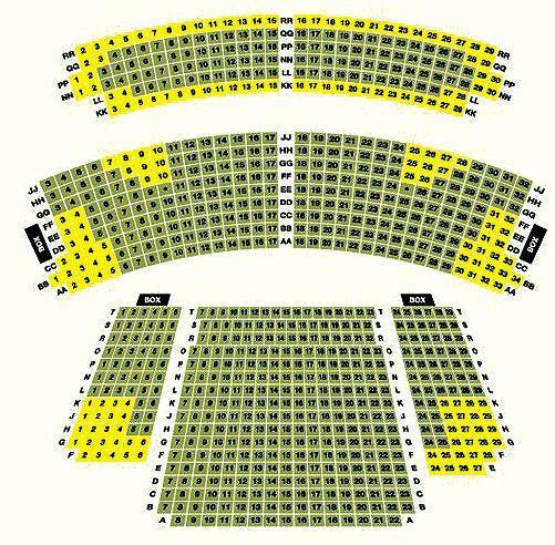 Darlington Civic Theatre Seating Plan