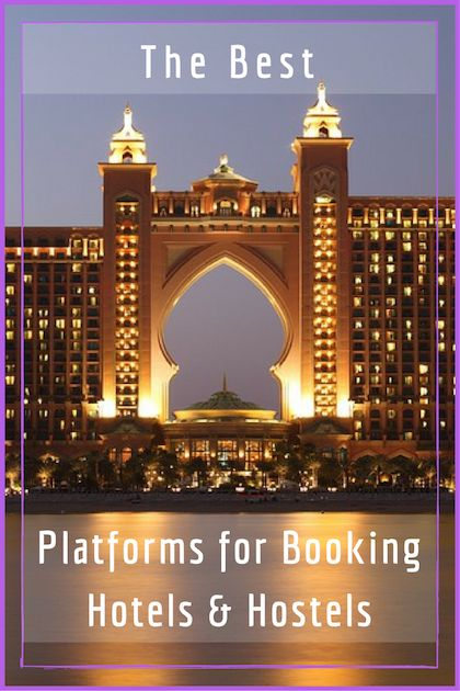 The best and most value for money platforms for booking hotels & hostels