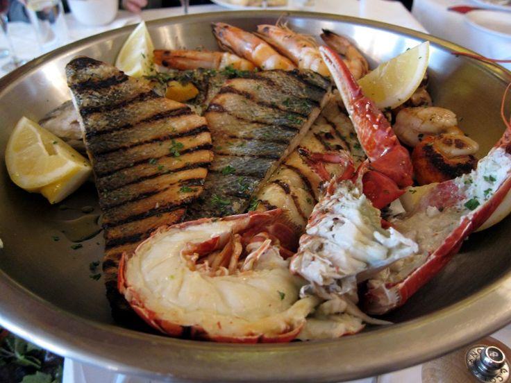 Seafood Platter at Englishs Brighton England
