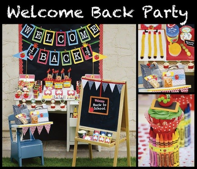 Linen, Lace, & Love: Back to School Party Ideas