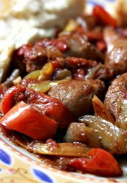 Sausage, Peppers & Onions  @Ann Tesch ---Could definitely sub venison italian bratwurst in this! -- Make this recipe with your favorite Johnsonville Italian Sausage.
