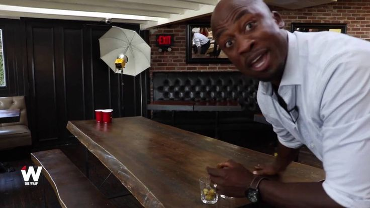 Watch American Ninja Warrior Host Akbar Gbaja Biamila Dominate Drinking Games