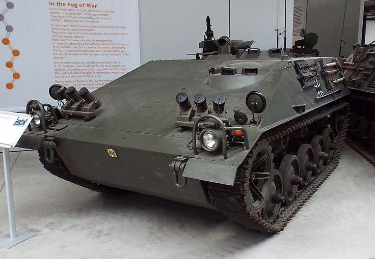Spz kurz Beobachtung Typ 22-2 Reconnaissance Vehicle 1959 Panzer Museum Munster
