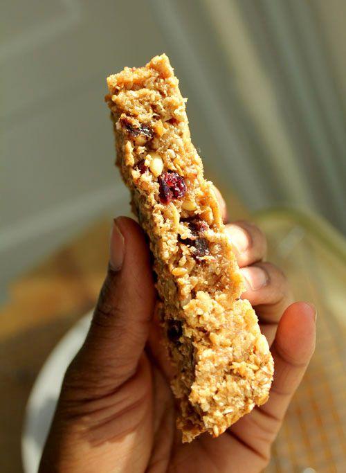 Homemade NO nut granola bars!