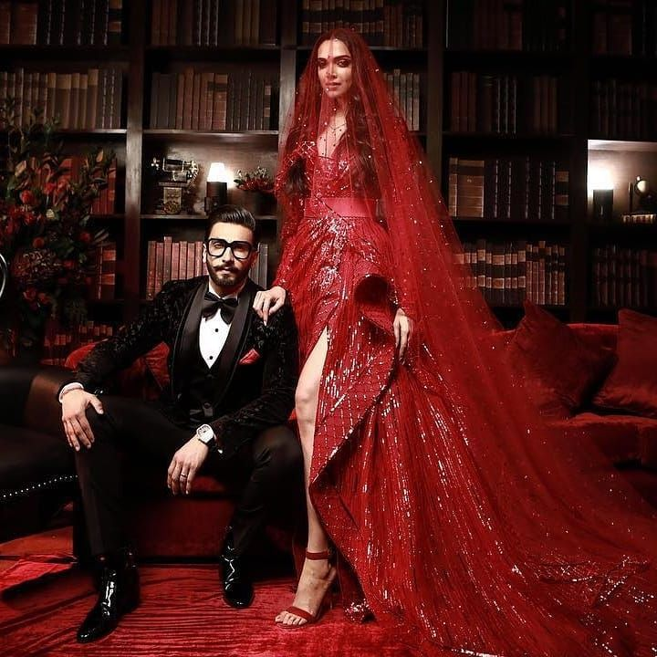 Bollywood Turns Up In Their Ultimate Best For The Deepveer Mumbai Reception Bollywood Wedding Deepika Padukone Style Deepika Padukone