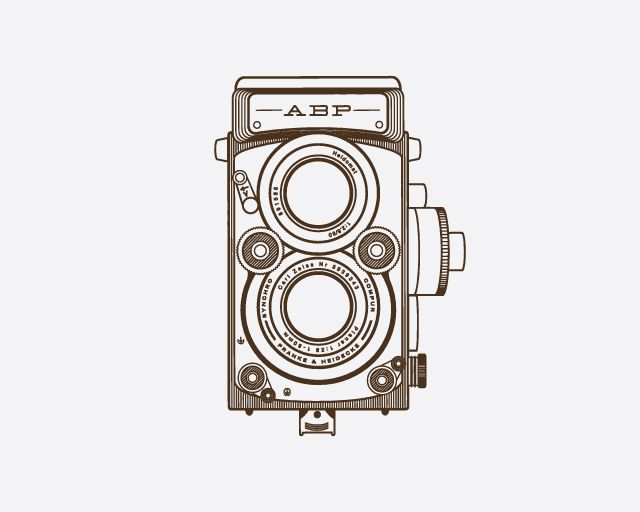 Old School Camera Hand Drawn Illustration #drawing #vintage #sketch | Sketches | Pinterest ...