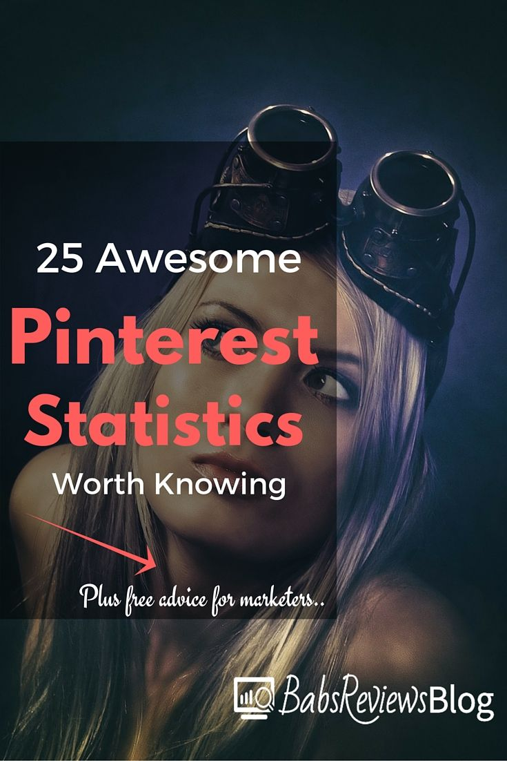 Recently I've tasked myself to increase the rate at which I use Pinterest, see what good can come of it. Wanna know why? The Pinterest marketing statistics you're going to see in this article.