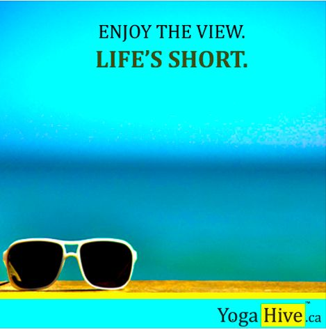 Summer is here! Yoga on the beach should be in order! #namaste #yoga