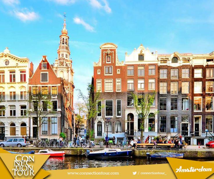 Özgürlüğün şehri Amsterdam kanalları, dünyaca ünlü eserlerini barındıran müzeleri, dünyadaki ilk ve tek yüzen çiçek pazarıyla sizleri büyüleyecek.  #yurtdışıönerisi #gezelimgörelim #travel #Amsterdam