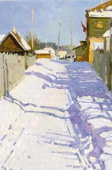 Celebration in the Kholui Settlement 1962 Painting by Semon Aronovich Rotnitski 1915 | Oil Painting