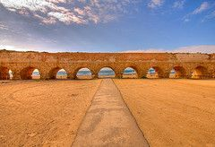 Aqueduct Beach, Caesarea, Israel