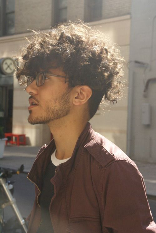 curly hair boys ideas