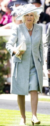 Duchess of Cornwall, June 17, 2014 in Philip Treacy   Royal Hats... Royal Ascot Day 1: The British Royal Family....Posted on June 18, 2014 by HatQueen.
