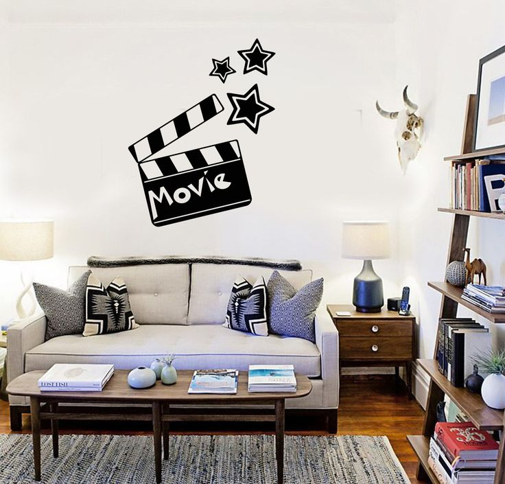Movie Wall Stickers Director Film Cinema Filming Vinyl Decal (ig2385)