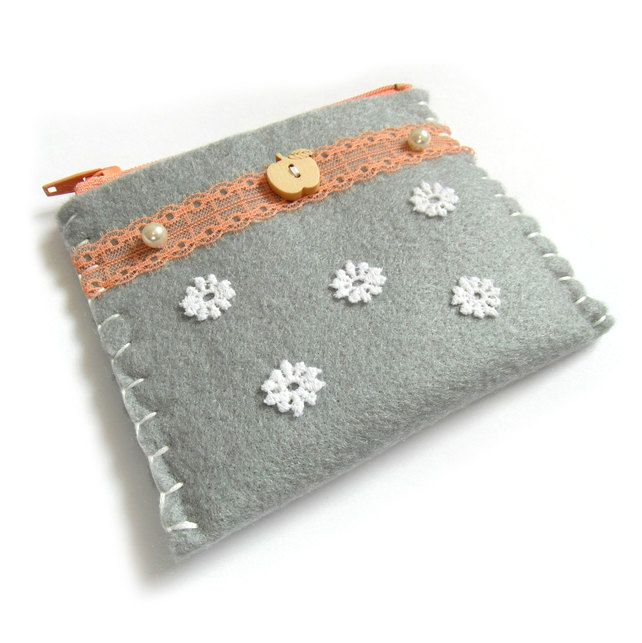 Floral Purse or Business Card Holder £7.00