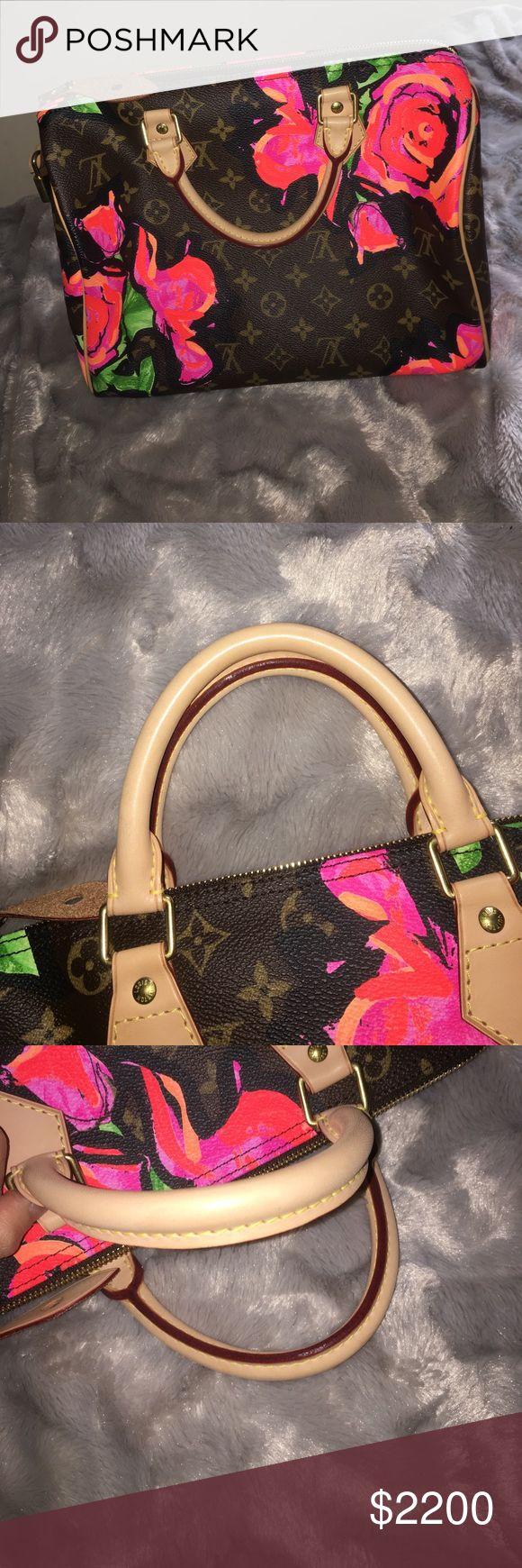 Spotted while shopping on Poshmark: Louis Vuitton Stephen Sprouse Roses Speedy! #poshmark #fashion #shopping #style #Louis Vuitton #Handbags