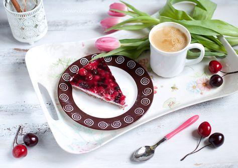 Диетический ягодный чизкейк | Рецепты правильного питания - Эстер Слезингер