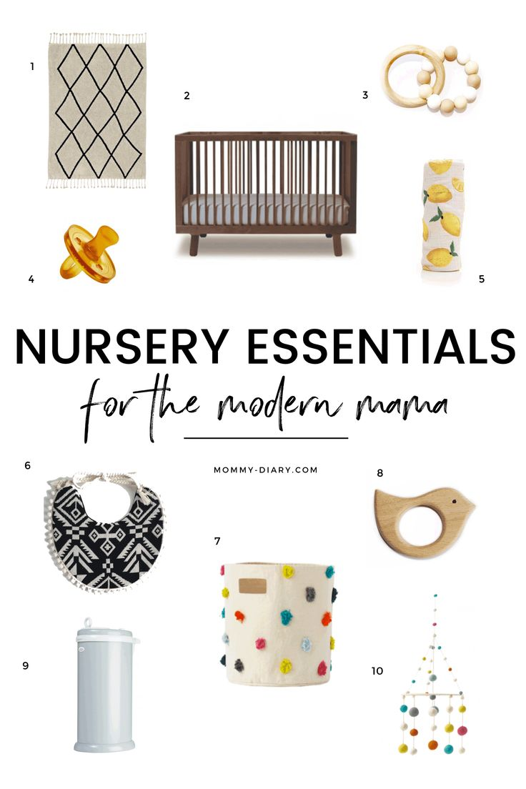 Best crib sheets for baby with eczema - Nursery Essentials For The Modern Mama