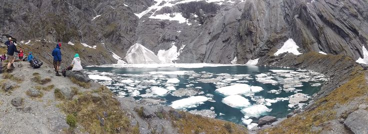 Lake Crucible in Mt Aspiring National Park is a breathtaking ending to a tough day's hiking.