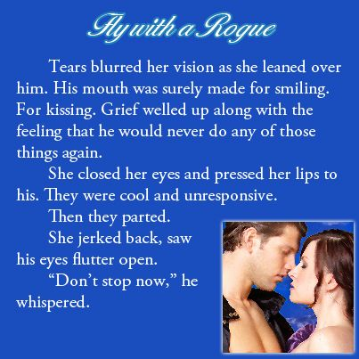 Excerpt from FLY WITH A ROGUE by Elena Greene