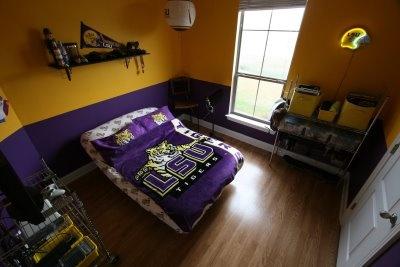 Lsu Bedroom Lsu Pinterest Colors Paint Colors And Lsu