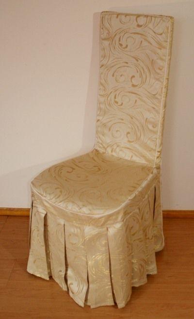 Mabotex - pokrowiec ozdobny na krzesło do restauracji #horeca #wedding
