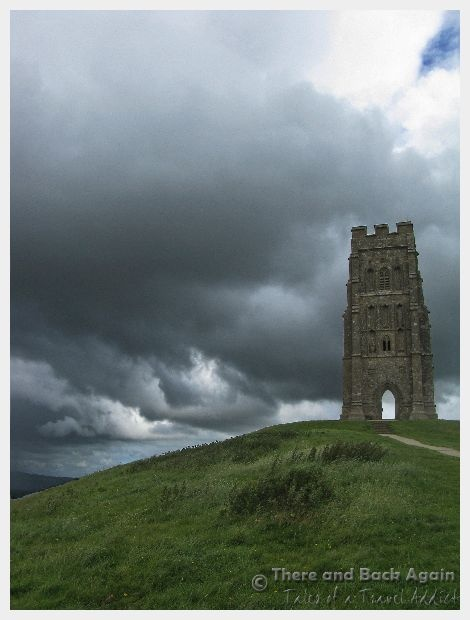 Glastonbury Tor in south west England is a magical and beautiful place.  Myths and legends surround it...some say it is the entrance to the fabled Isle of Avalon, and that it is tied closely with the legends of King Arthur and the Holy Grail.  Even if none of that holds any interest for you, the Tor and the nearby Chalice Well and garden (said to be the final resting place of the Holy Grail) are incredibly beautiful and well worth a visit!