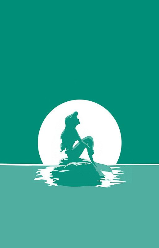 The Little Mermaid iPhone 5 case by MargaHG