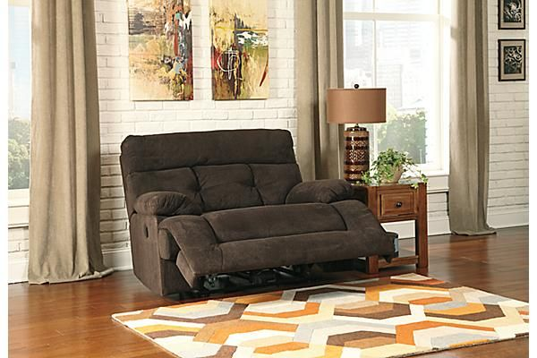 The Overly Oversized Power Recliner from Ashley Furniture HomeStore (AFHS.com). The u201cOverly-Chocolateu201d upholstery collection features the comfort ou2026 & The Overly Oversized Power Recliner from Ashley Furniture ... islam-shia.org