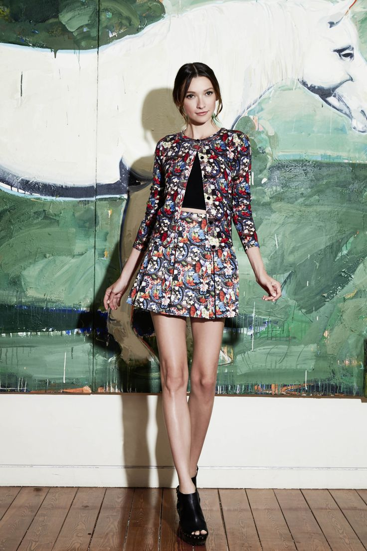 571 best floral fun images on pinterest alice olivia beautiful