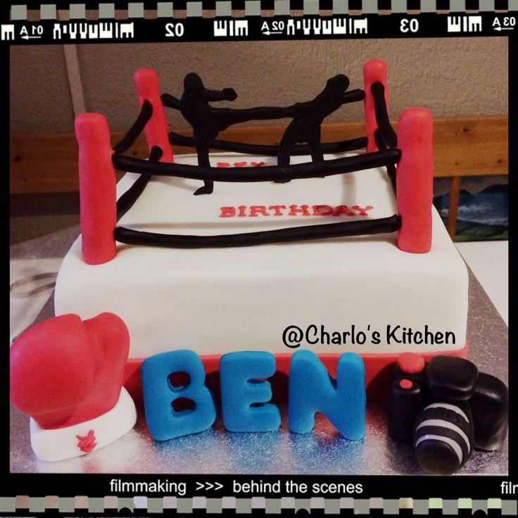 Kickboxing Cake