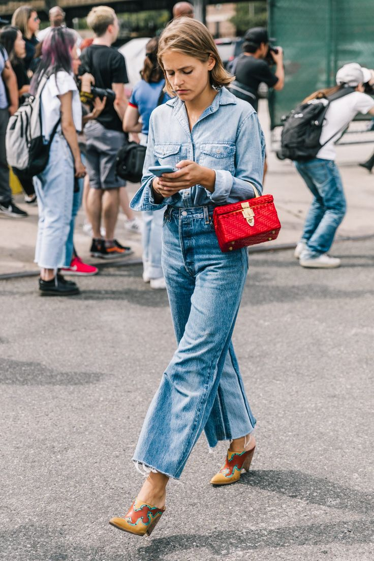 NYFW SS18 Street Style III | Collage Vintage