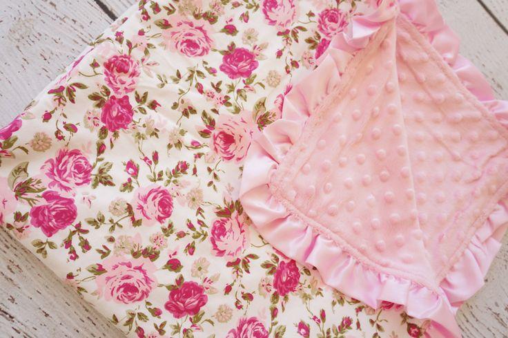 baby minky, baby blanket, newborn baby blanket, receiving blanket, soft baby blanket, baby shower girls gift, minky, girls by PoshPeanutKids on Etsy https://www.etsy.com/listing/200778914/baby-minky-baby-blanket-newborn-baby