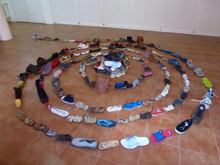 Instalación zapatos