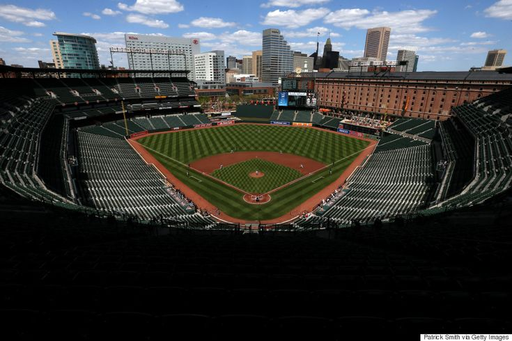 This Is What An Empty Baltimore Orioles Game Looks Like ... 4/29/15