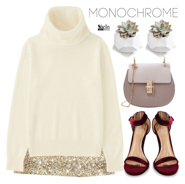 """Monochrome"" by m-zineta ❤ liked on Polyvore featuring Uniqlo"