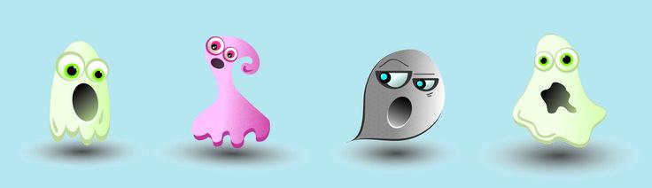 #fantasmas #vector