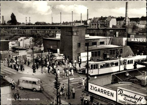 Great S Bahnhof Berlin Neukoelln in den ern