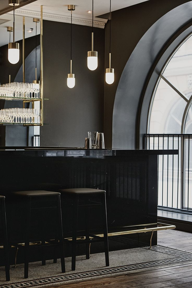 Helsinki based interior designer, Joanna Laajisto. Design of the Le'Roy nightclub. #simplicity