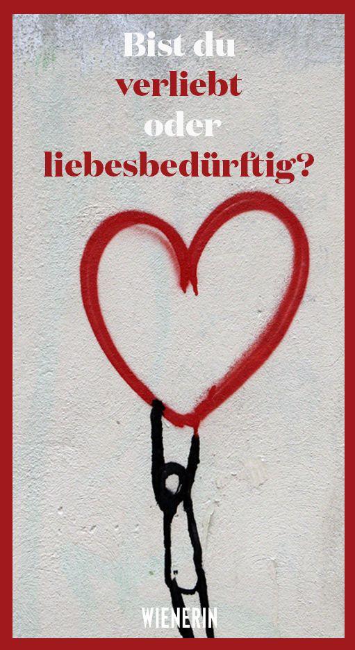 Bist du verliebt oder liebesbedürftig? | Wienerin