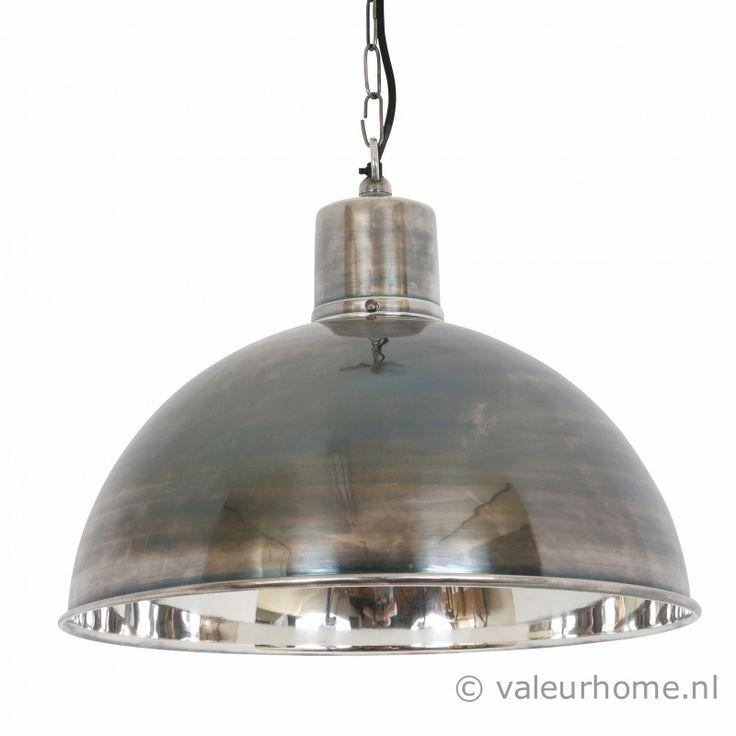 Marvelous Hanglamp Monroe antiek zilver