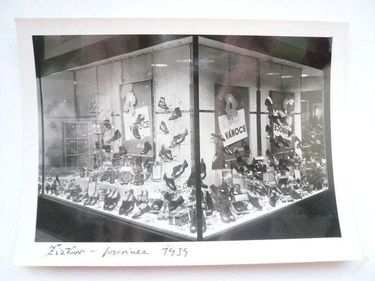 VÝLOHA prodejny BAŤA Žižkov, prosinec 1939 !!! č.2